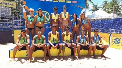 Sergipe e Mato Grosso do Sul conquistam o título da primeira etapa