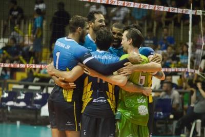 Sesc RJ, de Giovane, recebe Fiat/Minas, de Nery Tambeiro, em jogo com SporTV 2