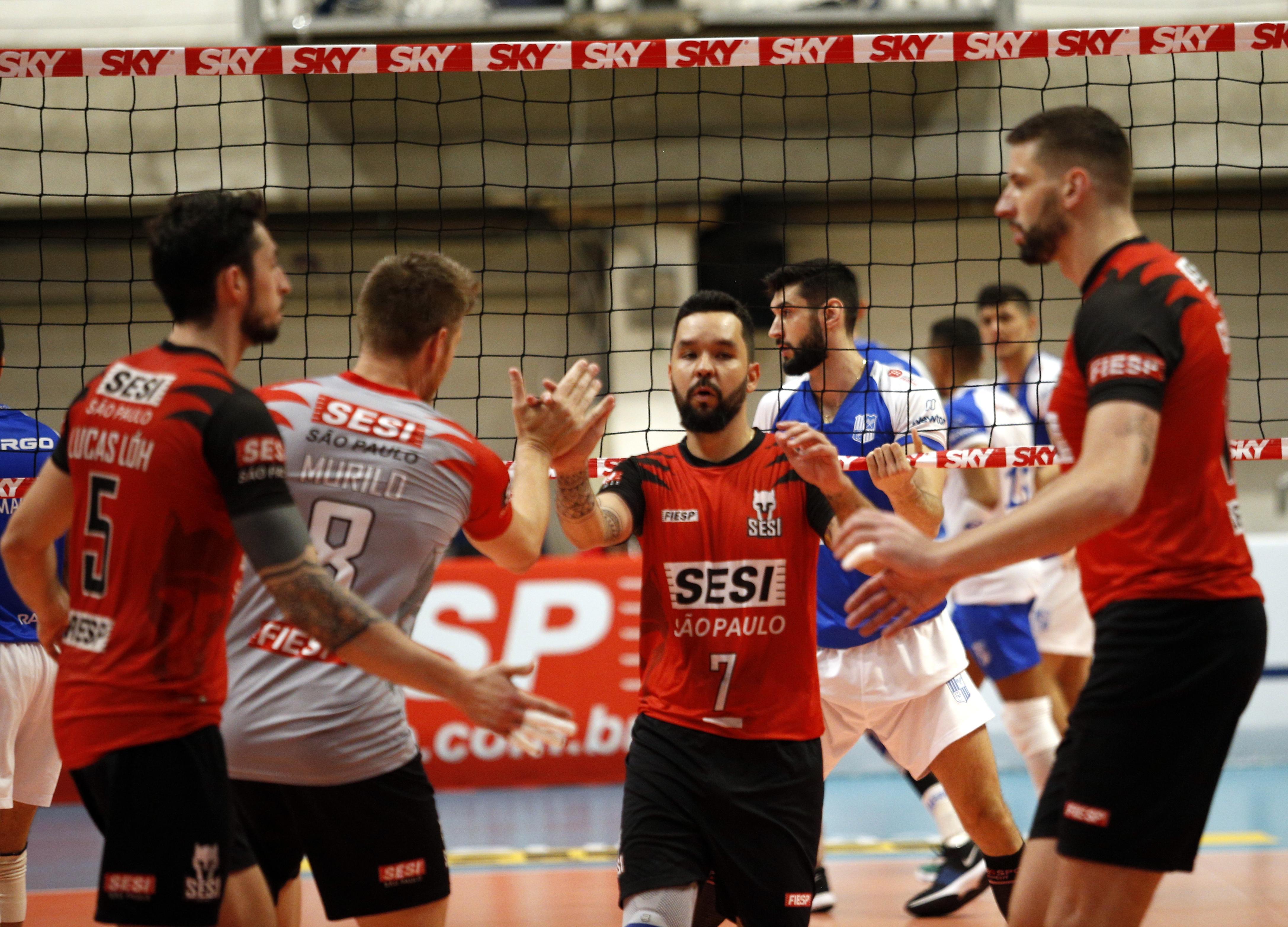 Sesi-SP e Sada Cruzeiro fazem reedição da última final