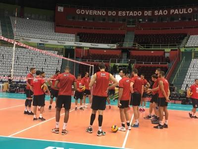 Sesi-SP e Sada Cruzeiro se enfrentam na primeira partida da final