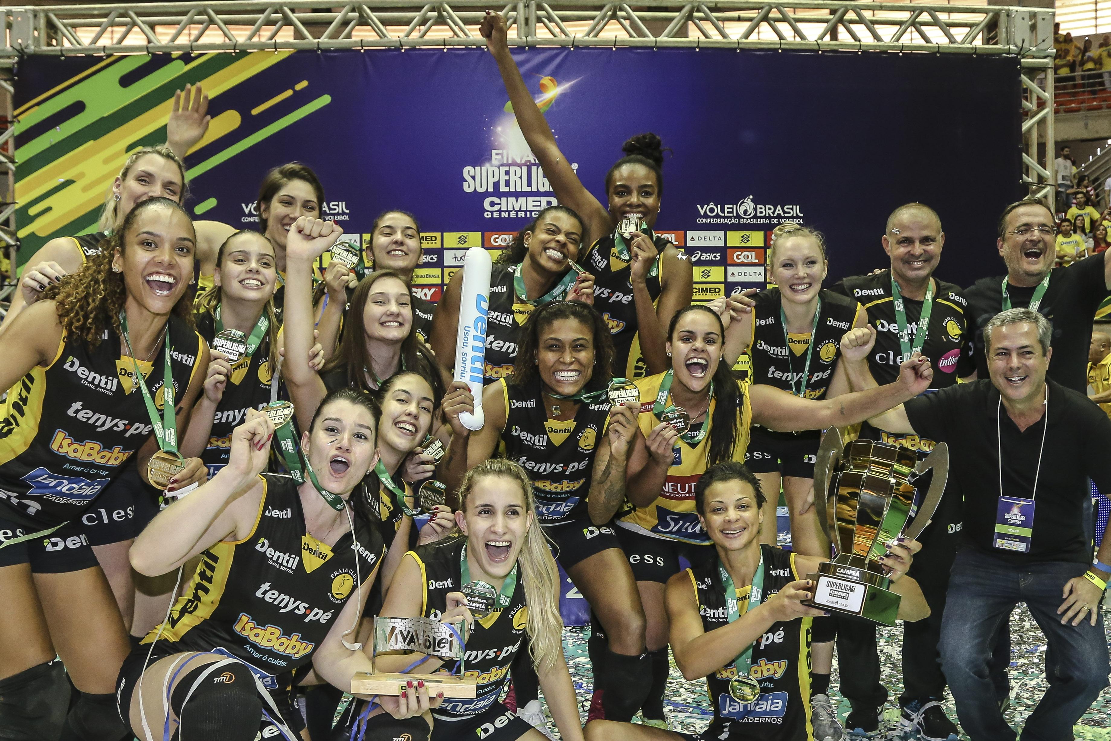 Vôlei Osasco Audax e Dentil/Praia Clube disputam título
