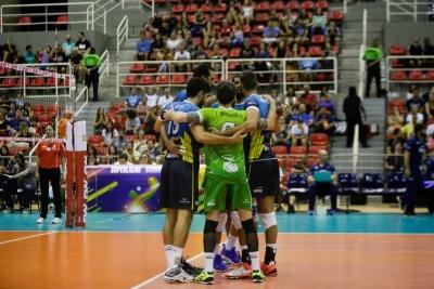 Sesc RJ e Sada Cruzeiro se enfrentam neste sábado com transmissão do SporTV 2