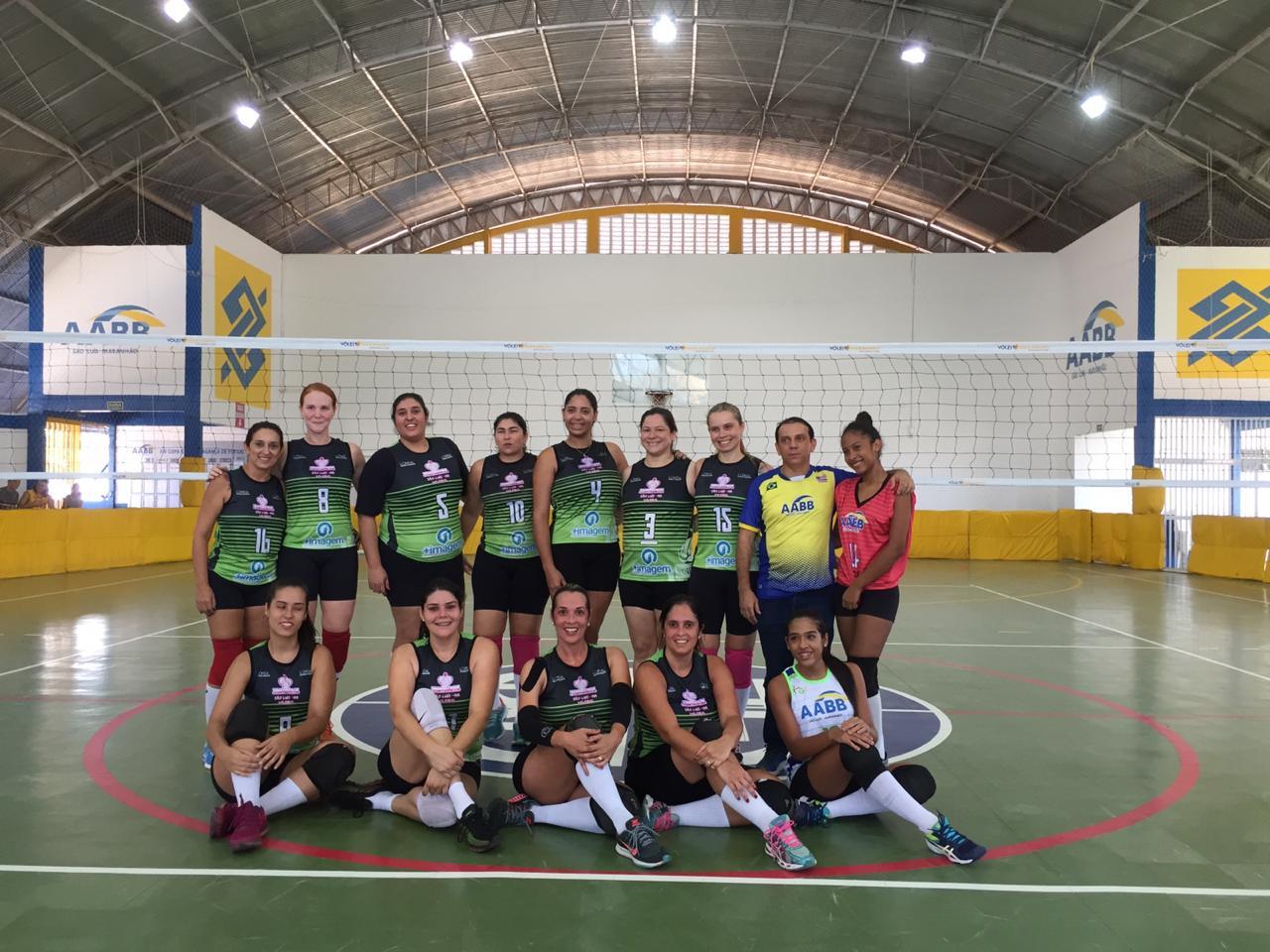 AABB e APCEF vencem na abertura do Maranhense de Voleibol