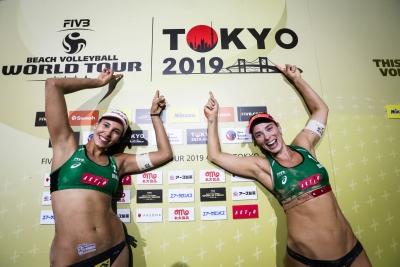 Ágatha/Duda encara norte-americanas na final da etapa de Tóquio