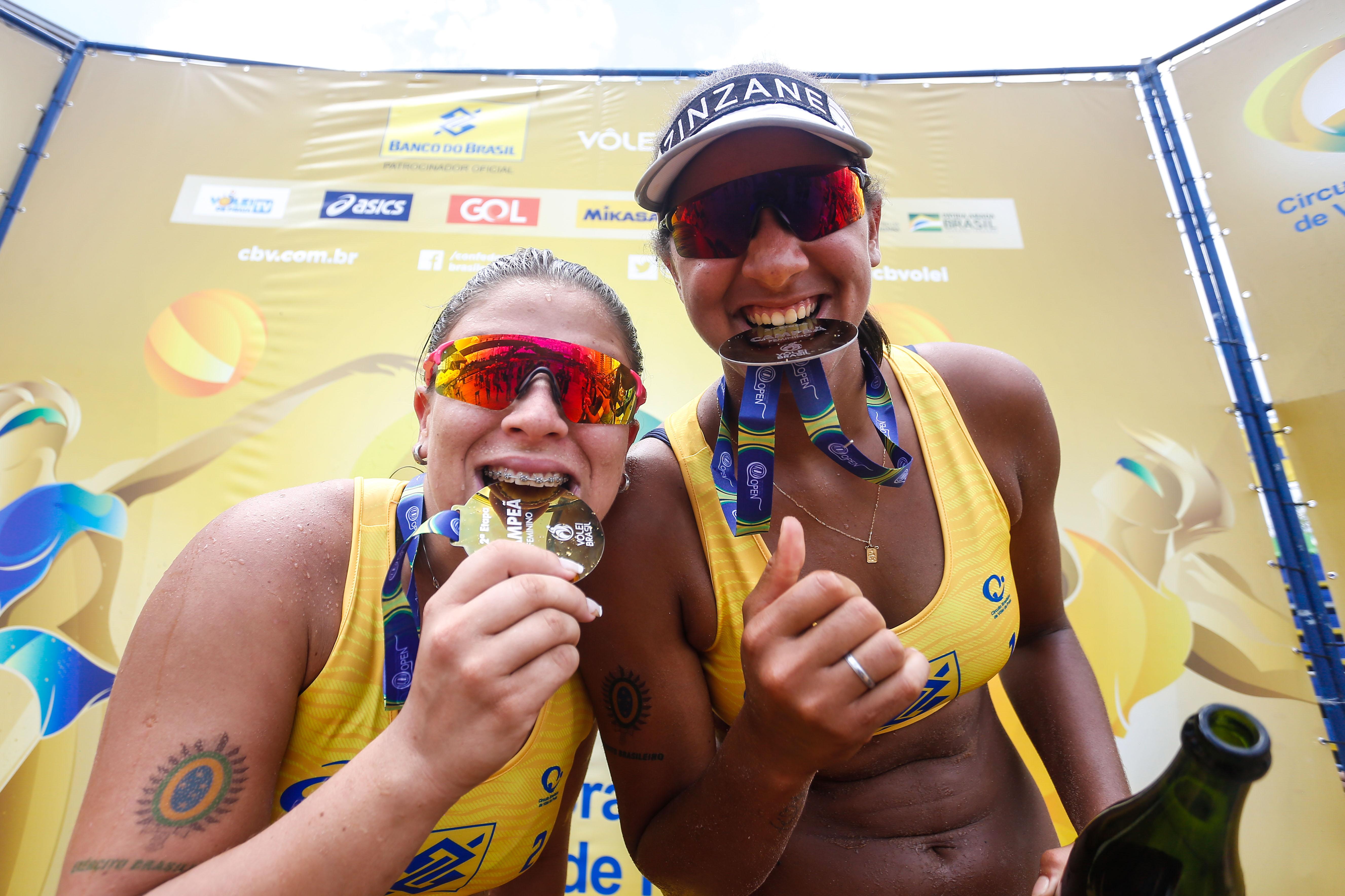 Ana Patrícia e Rebecca fecham 2019 com título em Cuiabá e vaga olímpica