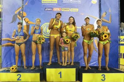 Ana Patrícia/Rebecca conquista o ouro em Brasília
