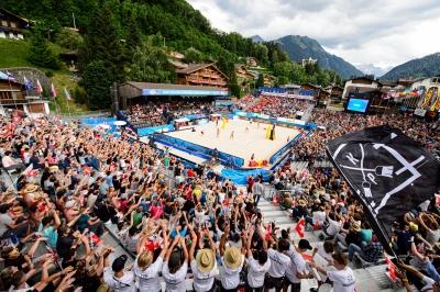 Ana Patrícia/Rebecca e Carol/Maria Elisa se enfrentam na semifinal em Gstaad