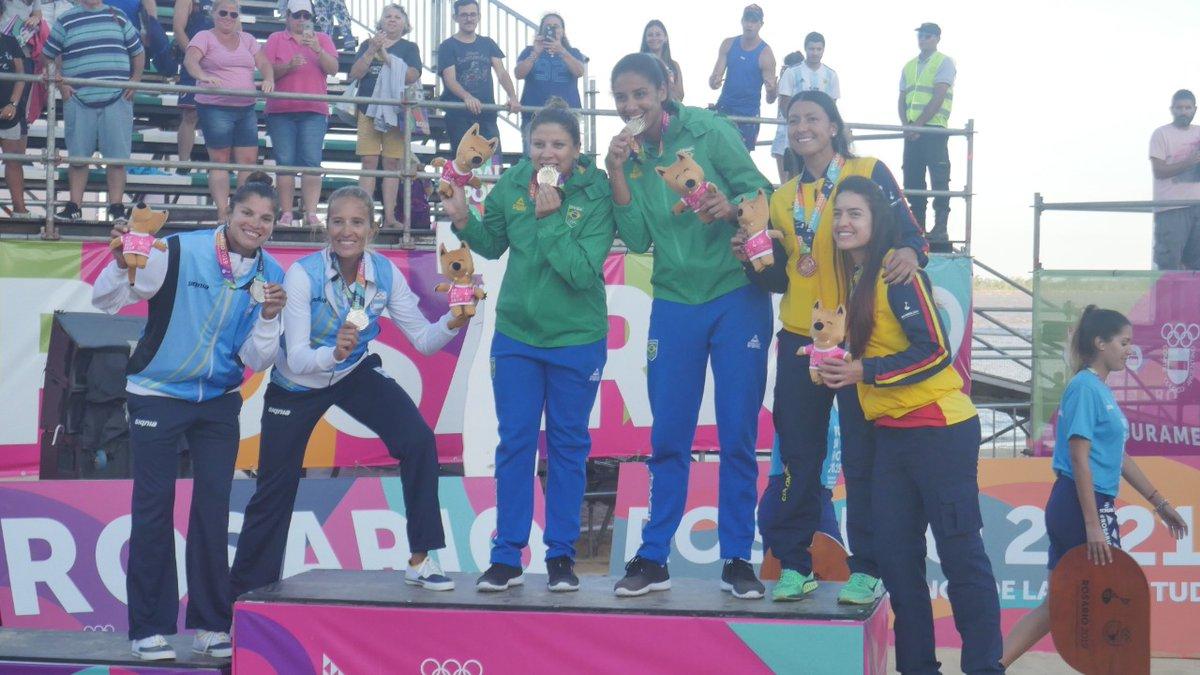 Ana Patrícia/Rebecca leva o ouro, e Adrielson/Renato fica com bronze
