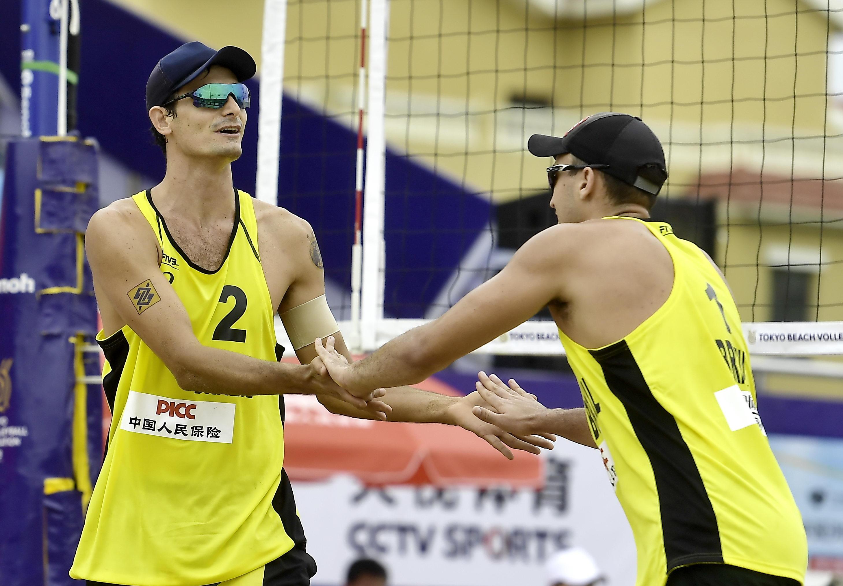 André e George seguem na busca por uma vaga para o Brasil