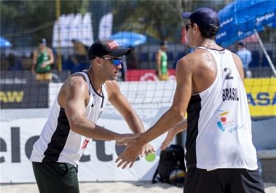 André e George vencem duelo brasileiro e fecham a lista de brasileiros em Varsóvia