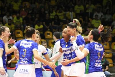 Atuais campeões, Itambé/Minas e EMS Taubaté Funvic buscam novo ano de sucesso