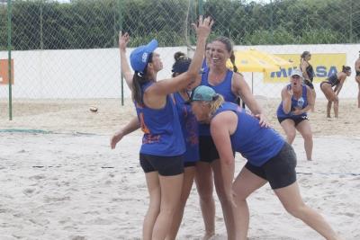 Belas do Sul (RS) eleva concentração e avança à final dos quartetos 40+ feminino