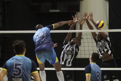 Botafogo e Apan Blumenau seguem invictos na competição