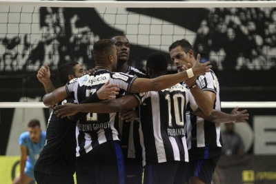 Botafogo e Lavras Vôlei fazem a segunda partida da semi nesta quarta-feira