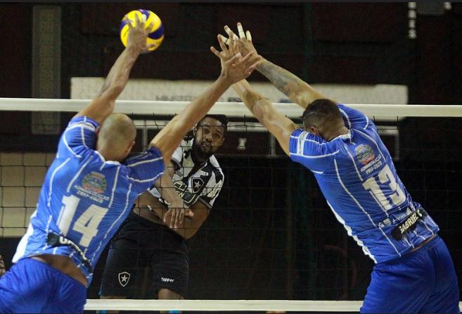 Botafogo e Lavras Vôlei fazem jogo decisivo nesta sexta-feira