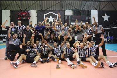 Botafogo vence Apan Blumenau e fica com título