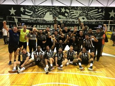 Botafogo vence Lavras mais uma vez e conquista vaga na elite