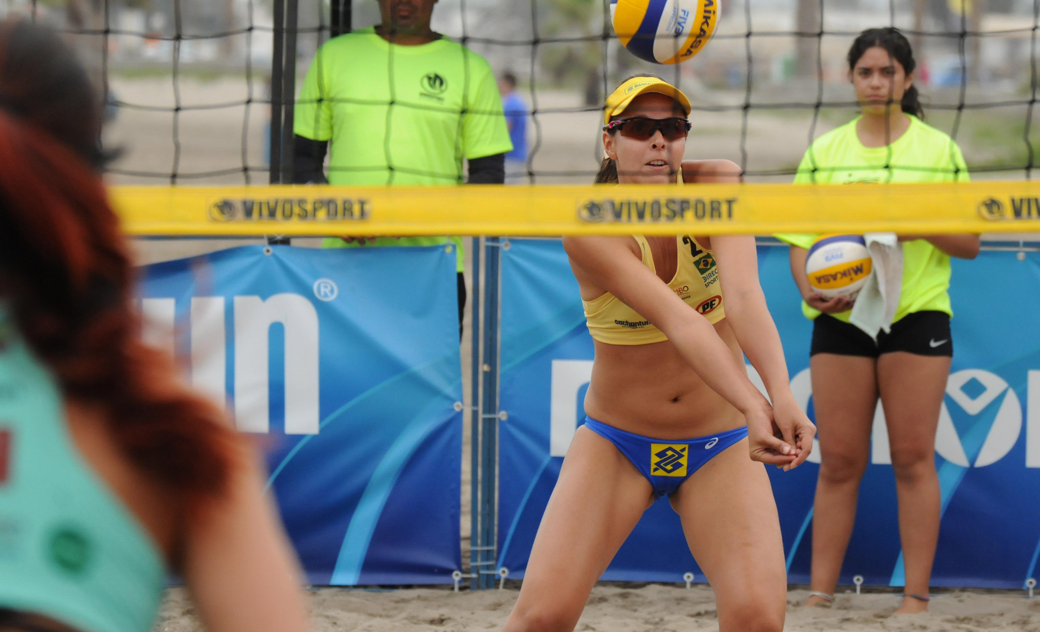 Brasil avança com três duplas às semifinais da etapa do Chile e já garante medalha