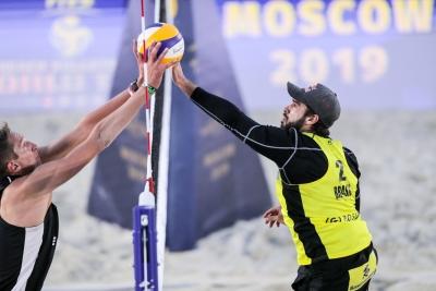 Brasil avança com três times às quartas de final do masculino em Moscou