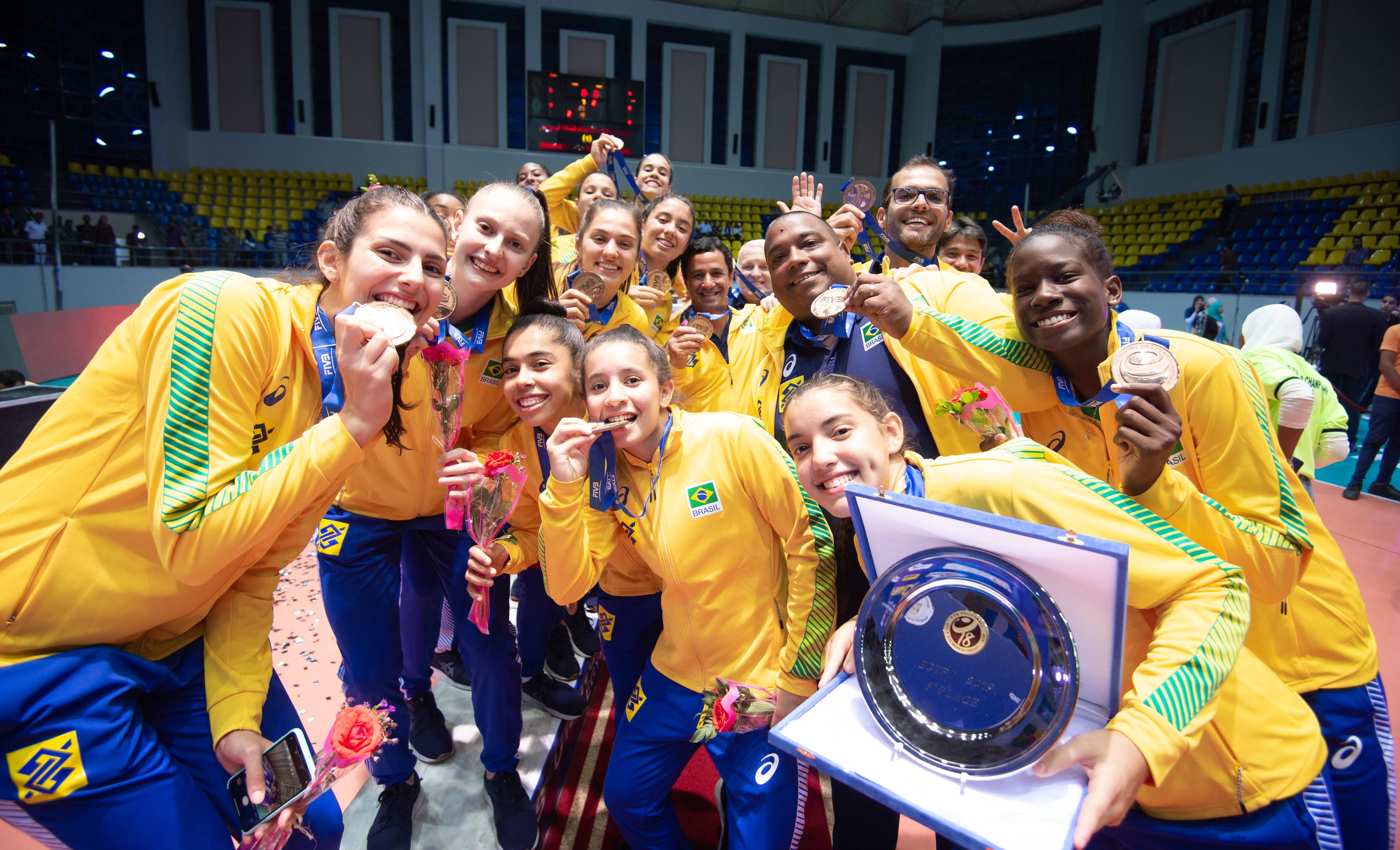 Brasil bate a China e fica com o bronze