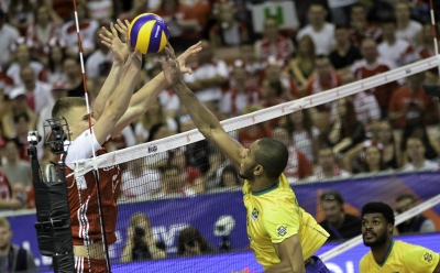 Brasil bate a Polônia em Katowice