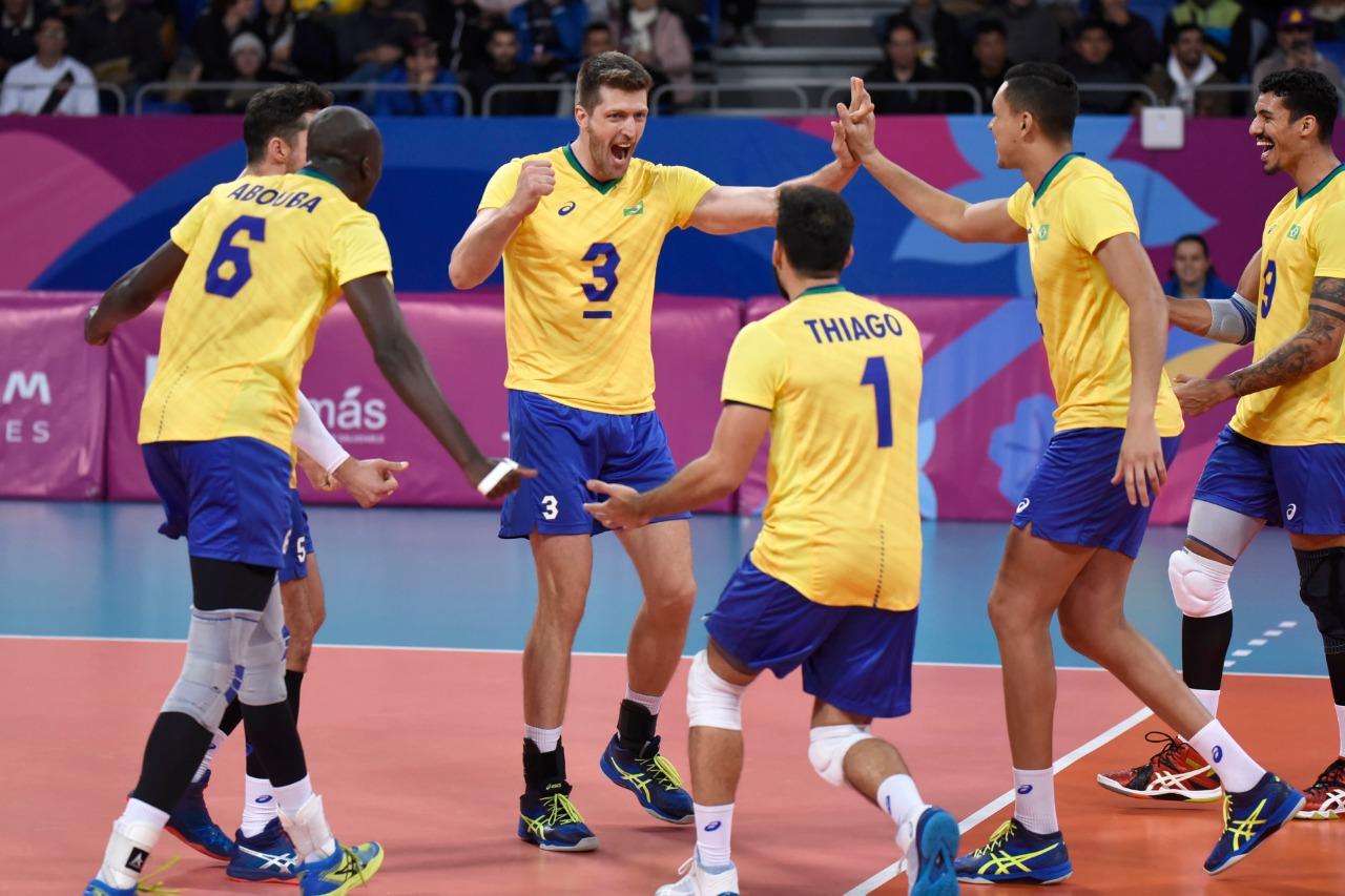 Brasil bate o Chile e fatura a medalha de bronze