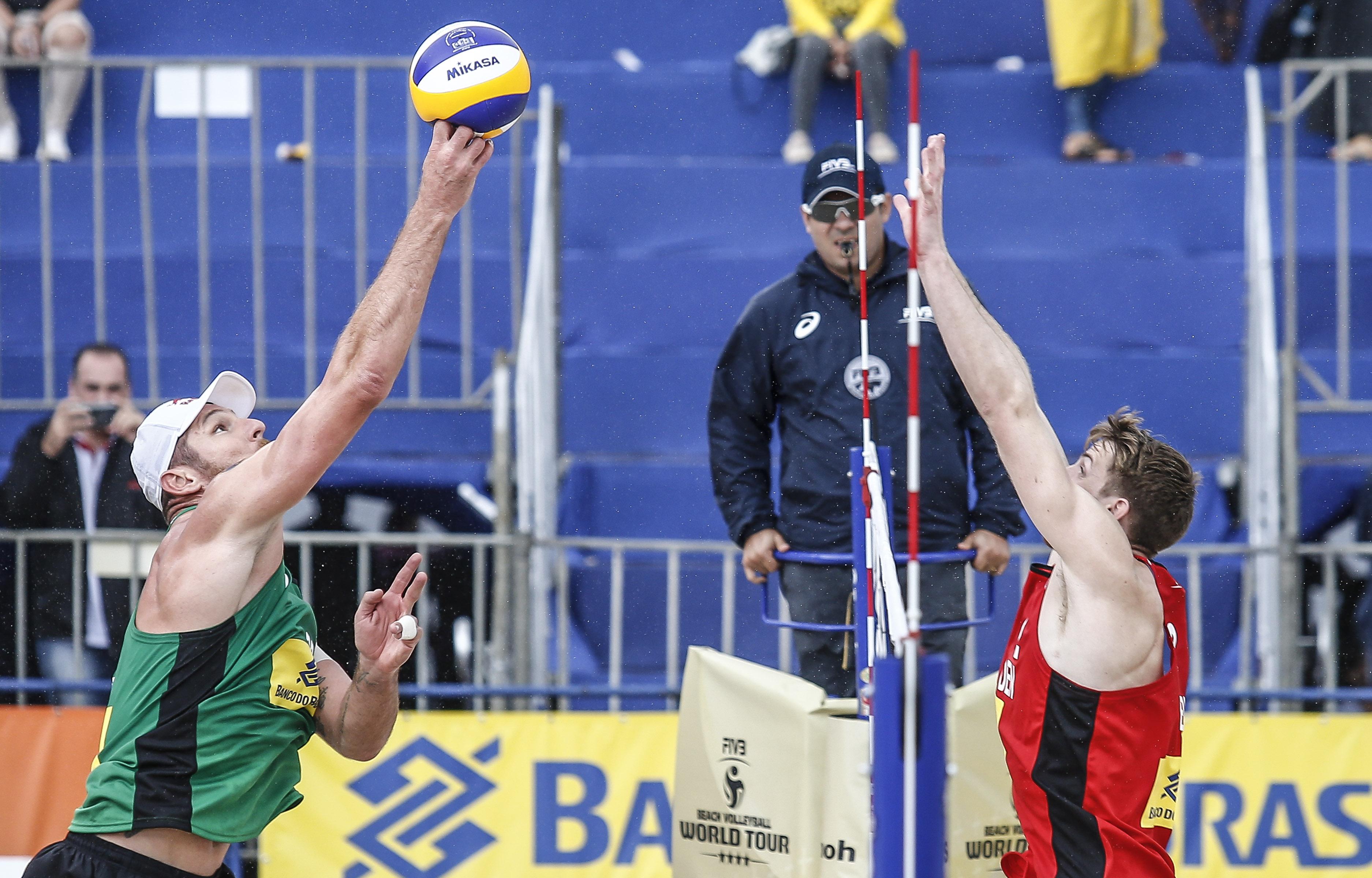 Brasil classifica mais cinco duplas à fase de grupos na etapa de Itapema