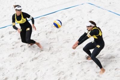 Brasil classifica três duplas às oitavas de final do naipe feminino em Ostrava