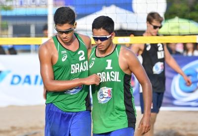 Brasil começa com três vitórias em quatro jogos na Tailândia
