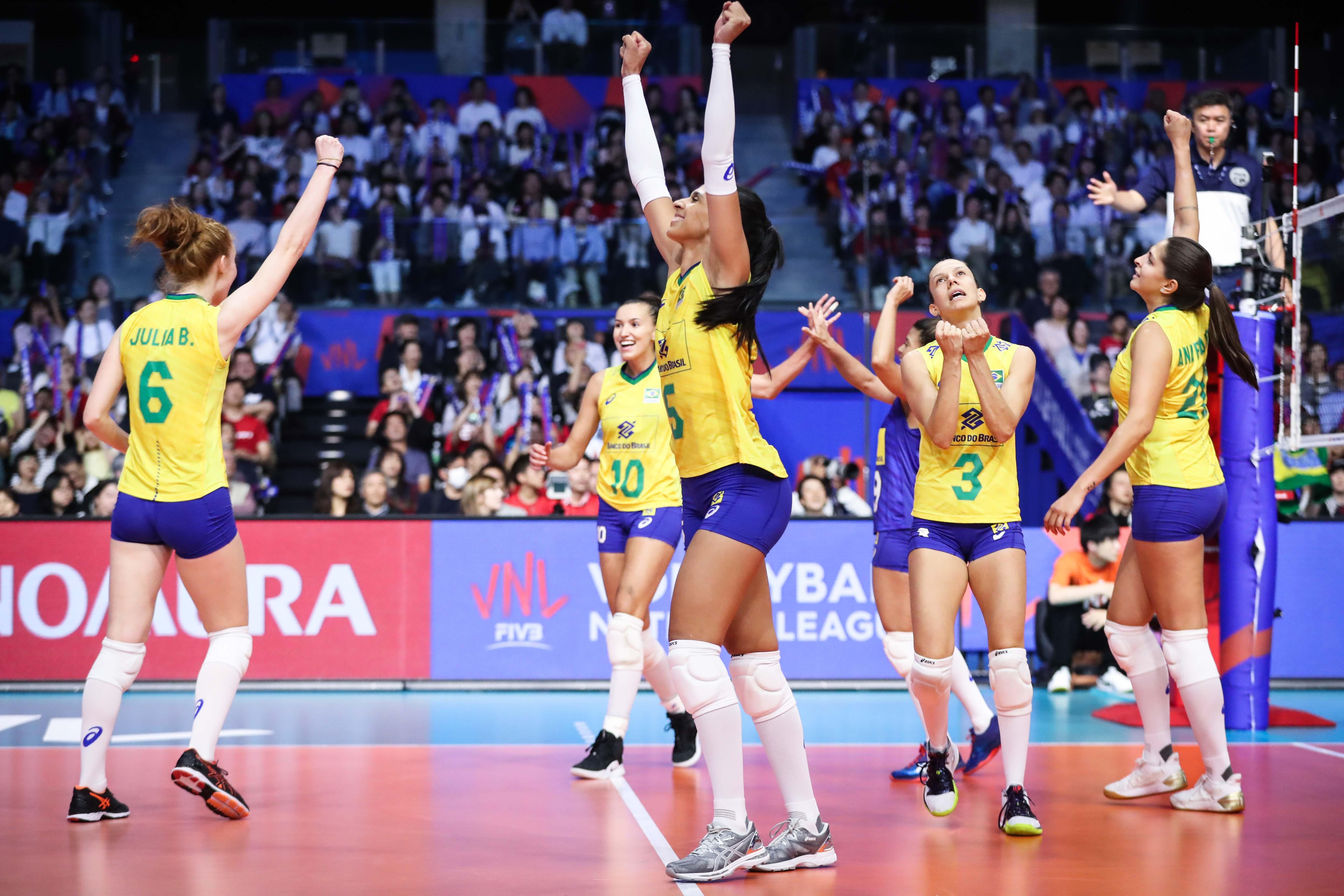 Brasil começa quarta semana com resultado positivo sobre Japão