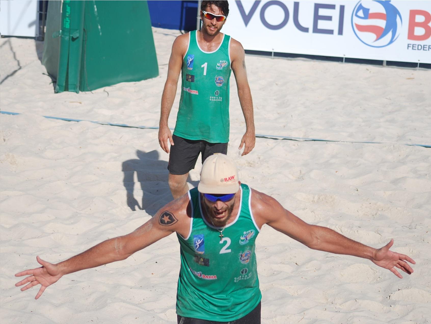 Brasil domina semifinais e já garante ouro, prata e bronze na Bahia