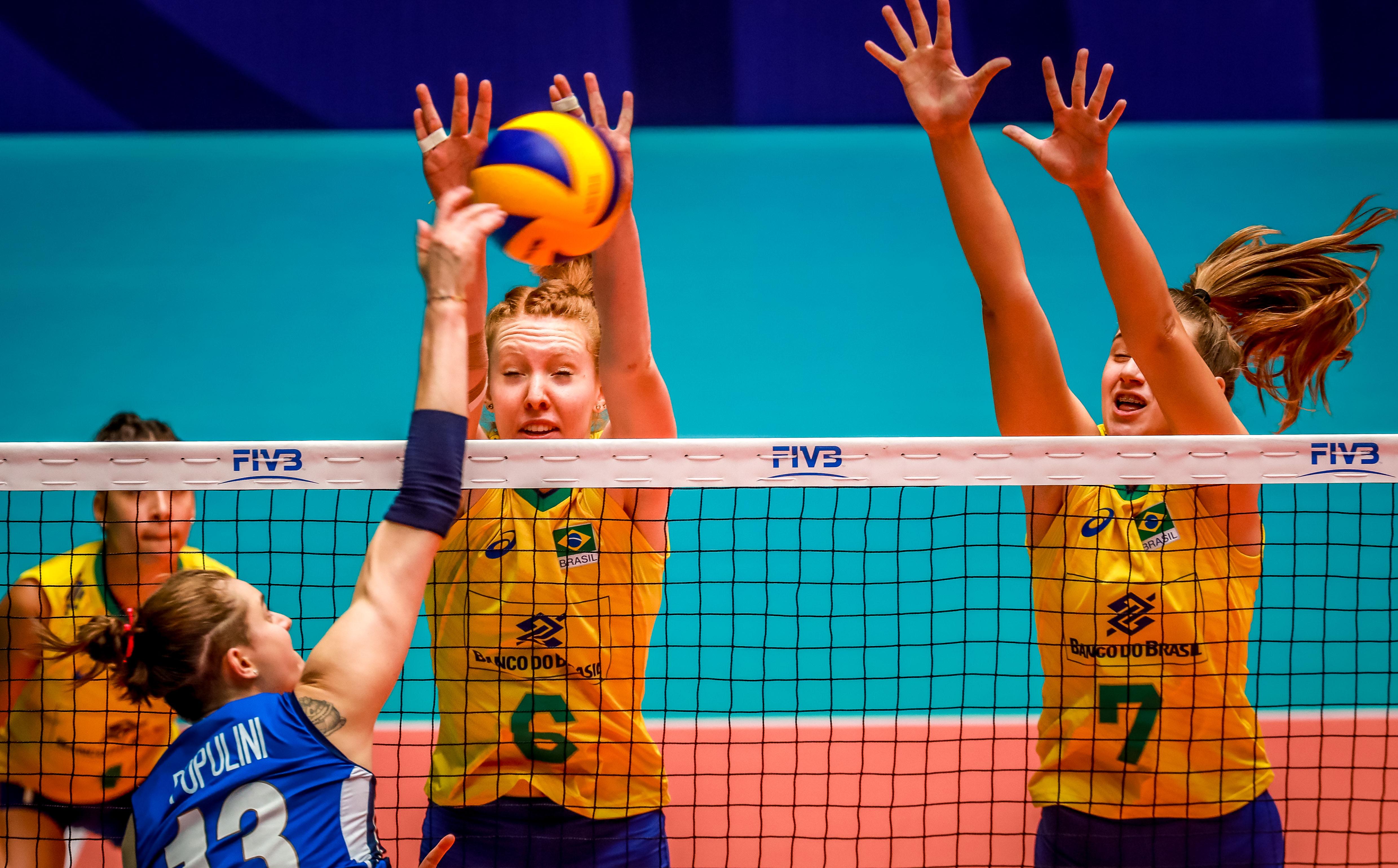 Brasil é superado pela Itália na abertura da segunda fase