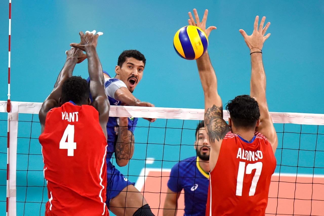 Brasil é superado por Cuba e vai disputar o bronze