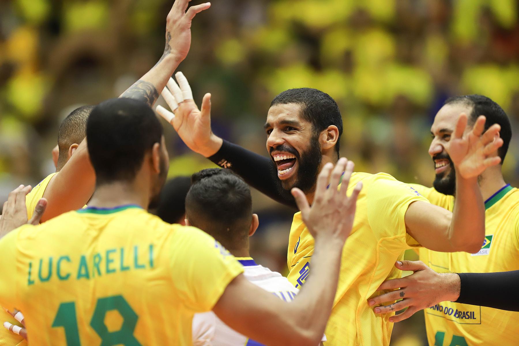Brasil encerra etapa de Cuiabá com a terceira vitória
