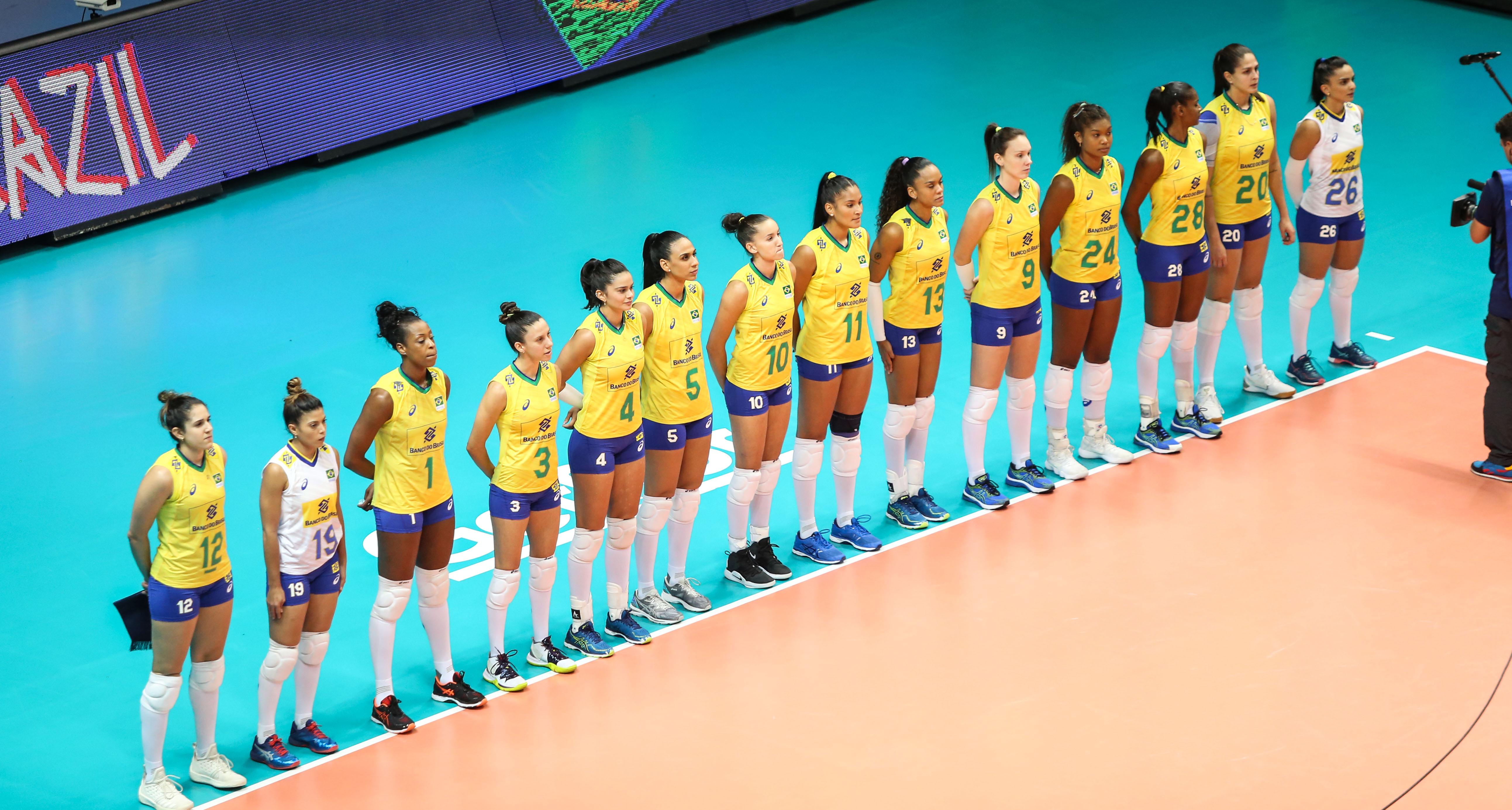 Brasil encerra fase de classificação em terceiro lugar