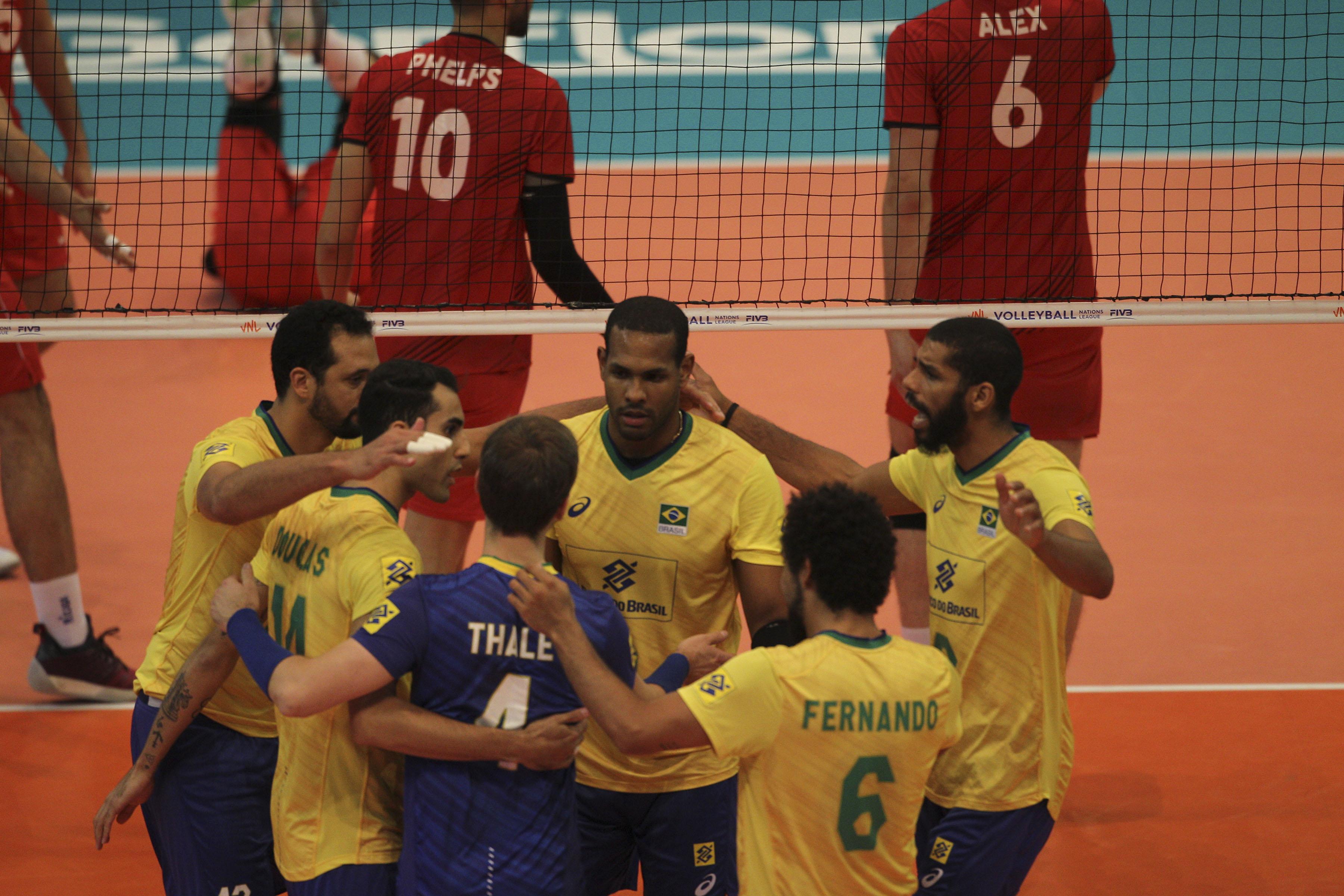 Brasil encerra terceira etapa com vitória sobre Portugal