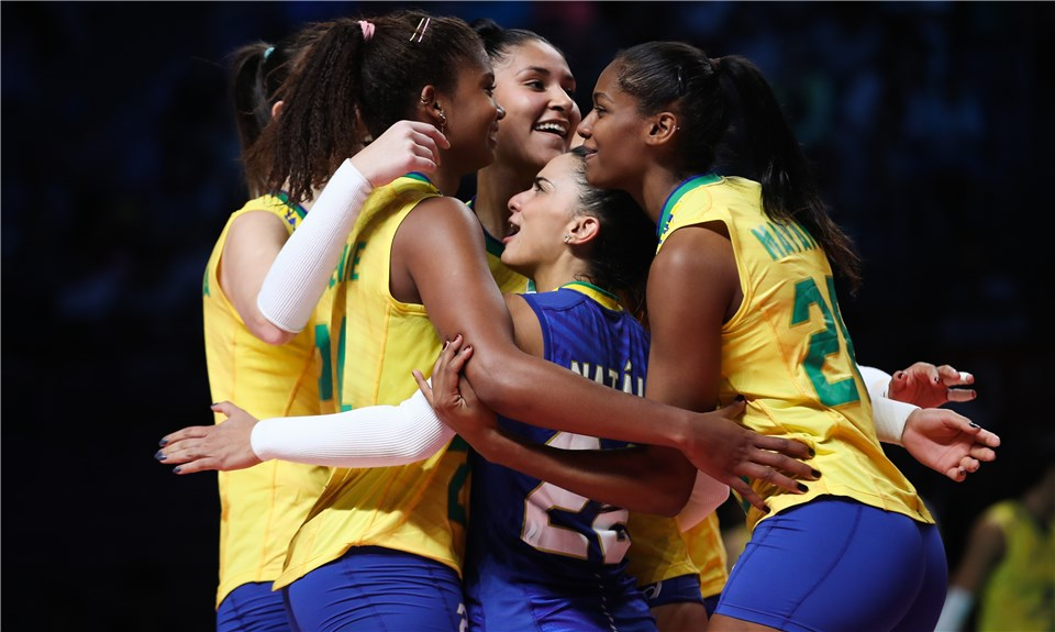 Brasil enfrenta Turquia na semifinal