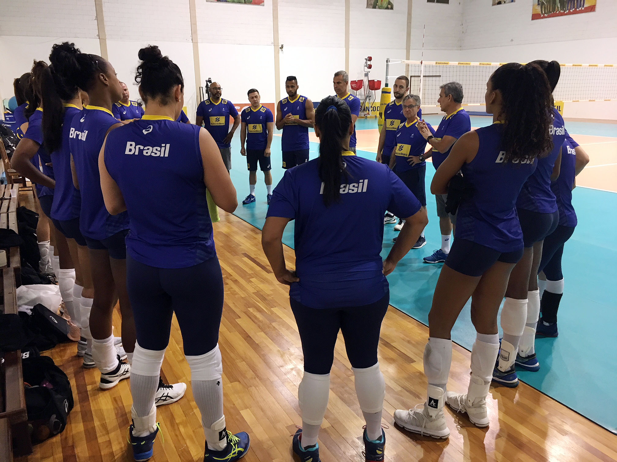 Brasil está na reta final de preparação para o Pré-Olímpico
