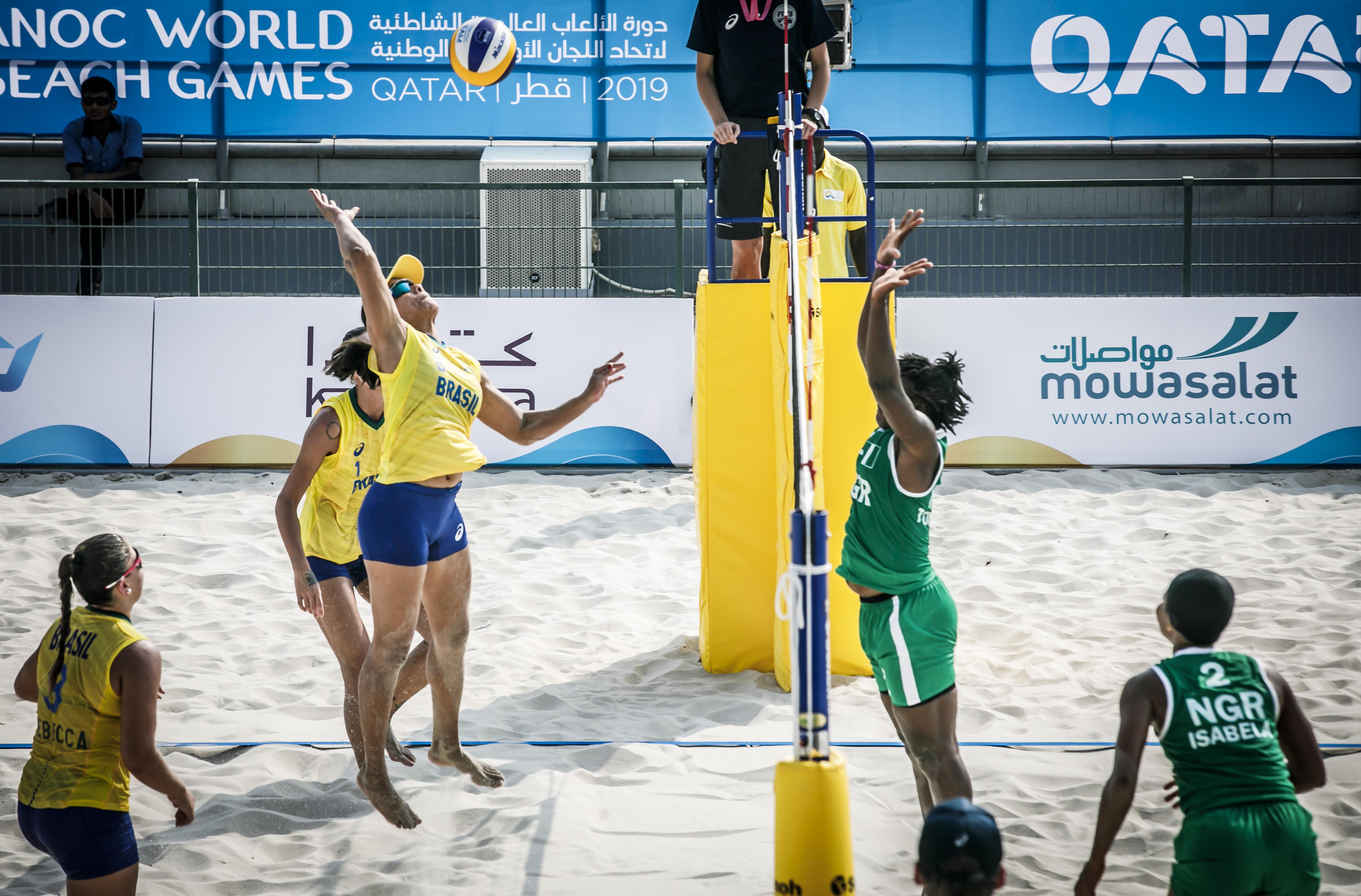 Brasil estreia com vitória no 4x4 feminino