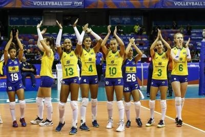 Brasil estreia com vitória sobre a China
