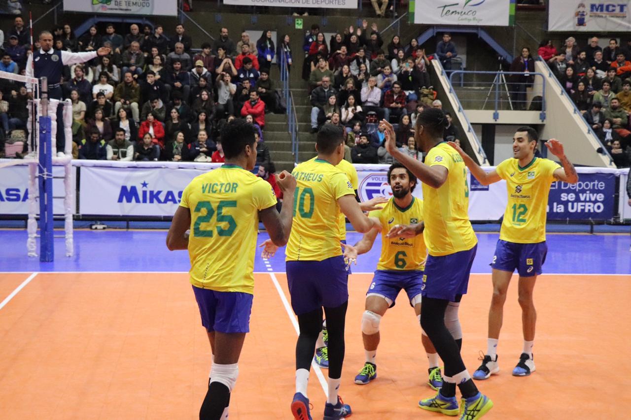 Brasil estreia com vitória sobre o Equador