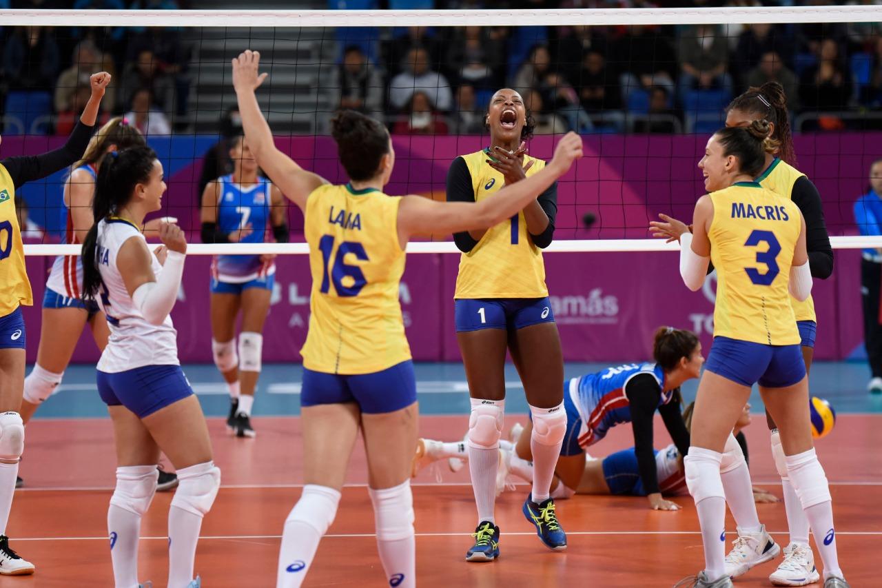 Brasil estreia com vitória sobre Porto Rico