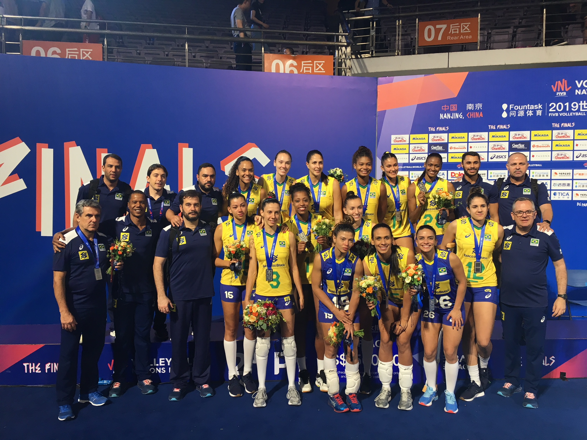 Brasil fica com a medalha de prata