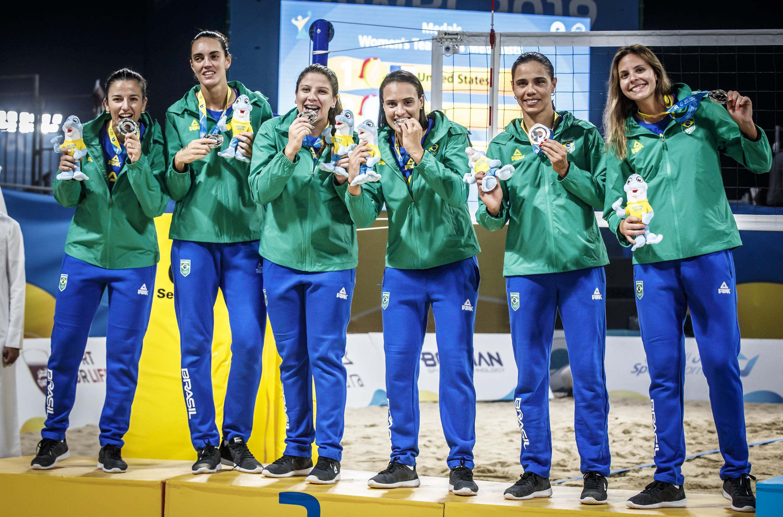 Brasil fica com a prata em Doha