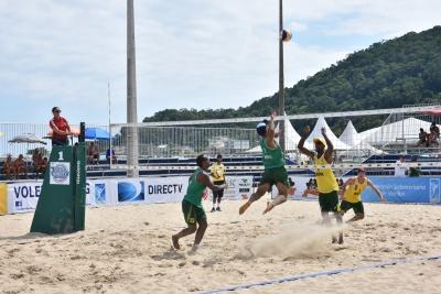 Brasil larga com importantes vitórias na etapa de São Francisco do Sul