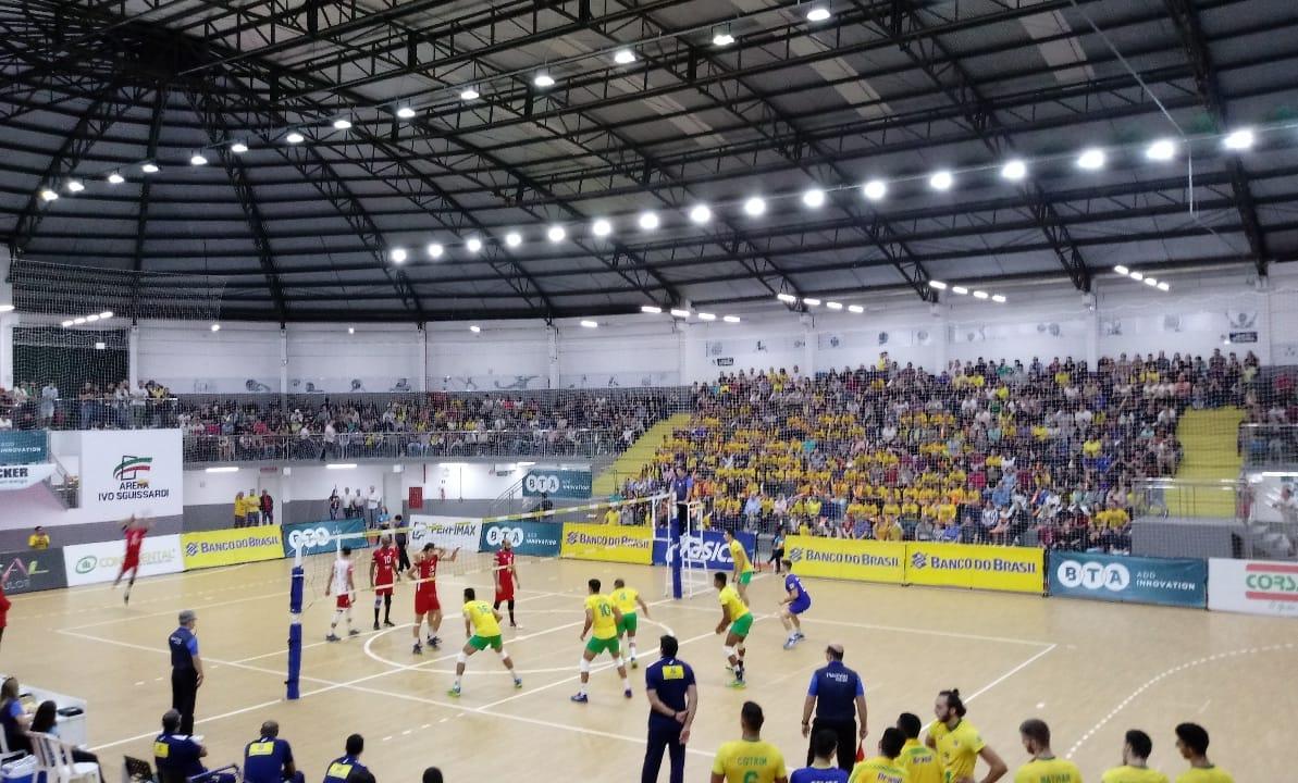 Brasil tem saldo positivo após série amistosa contra Tunísia em Santa Catarina