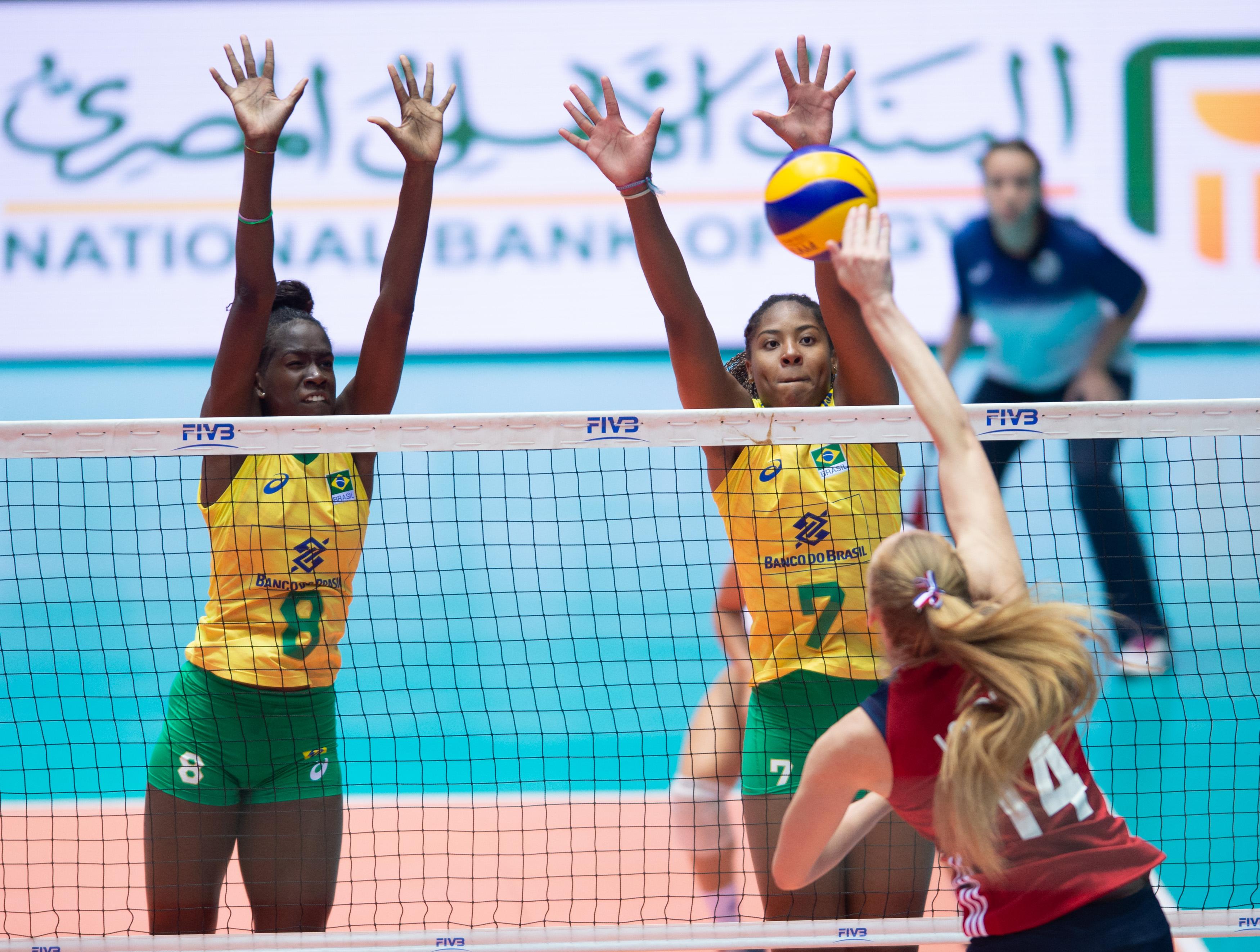 Brasil vai em busca do bronze no Egito
