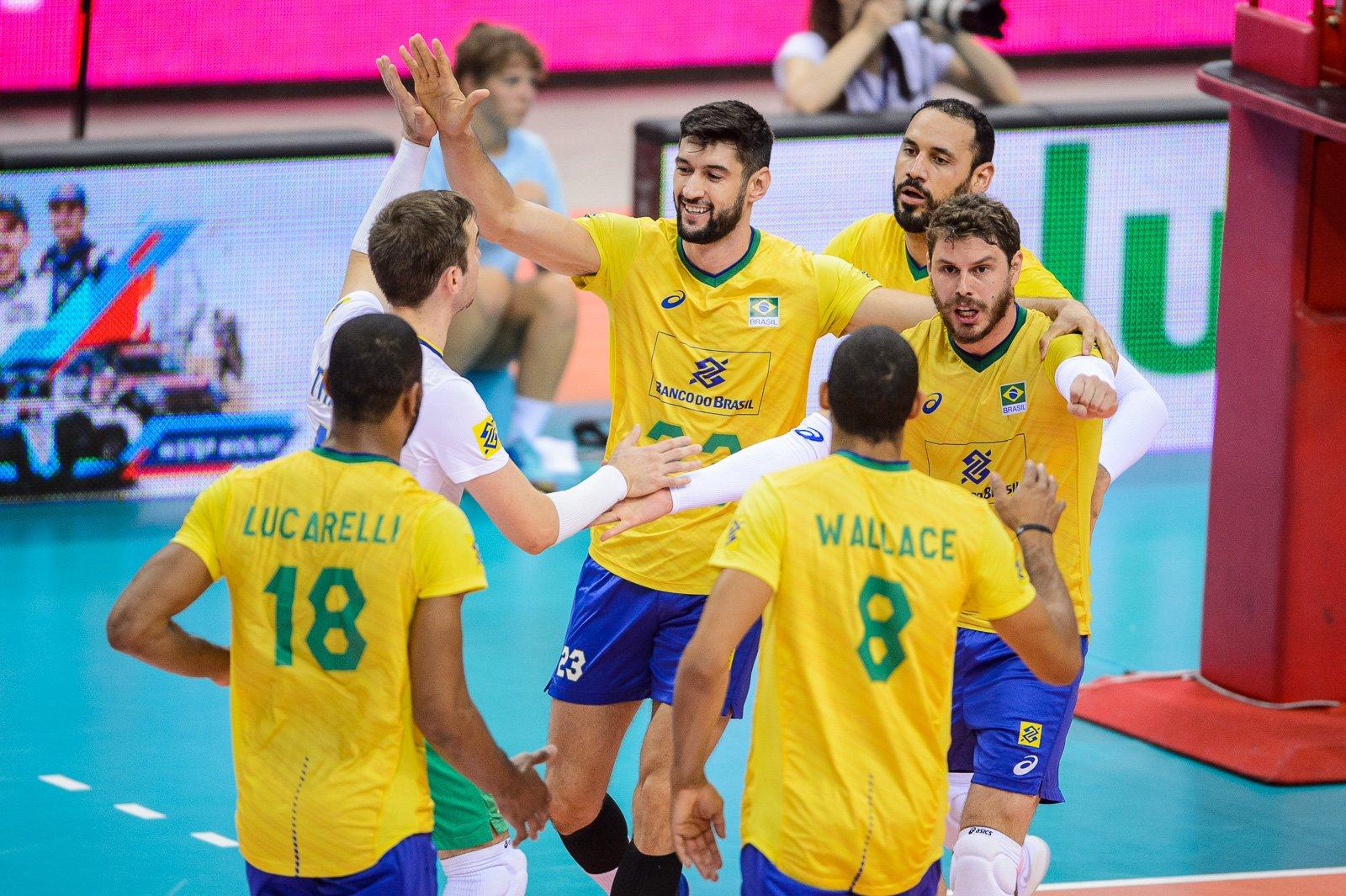 Brasil vence a Polônia na casa do adversário