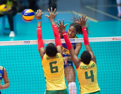 Brasil vence a segunda no Egito