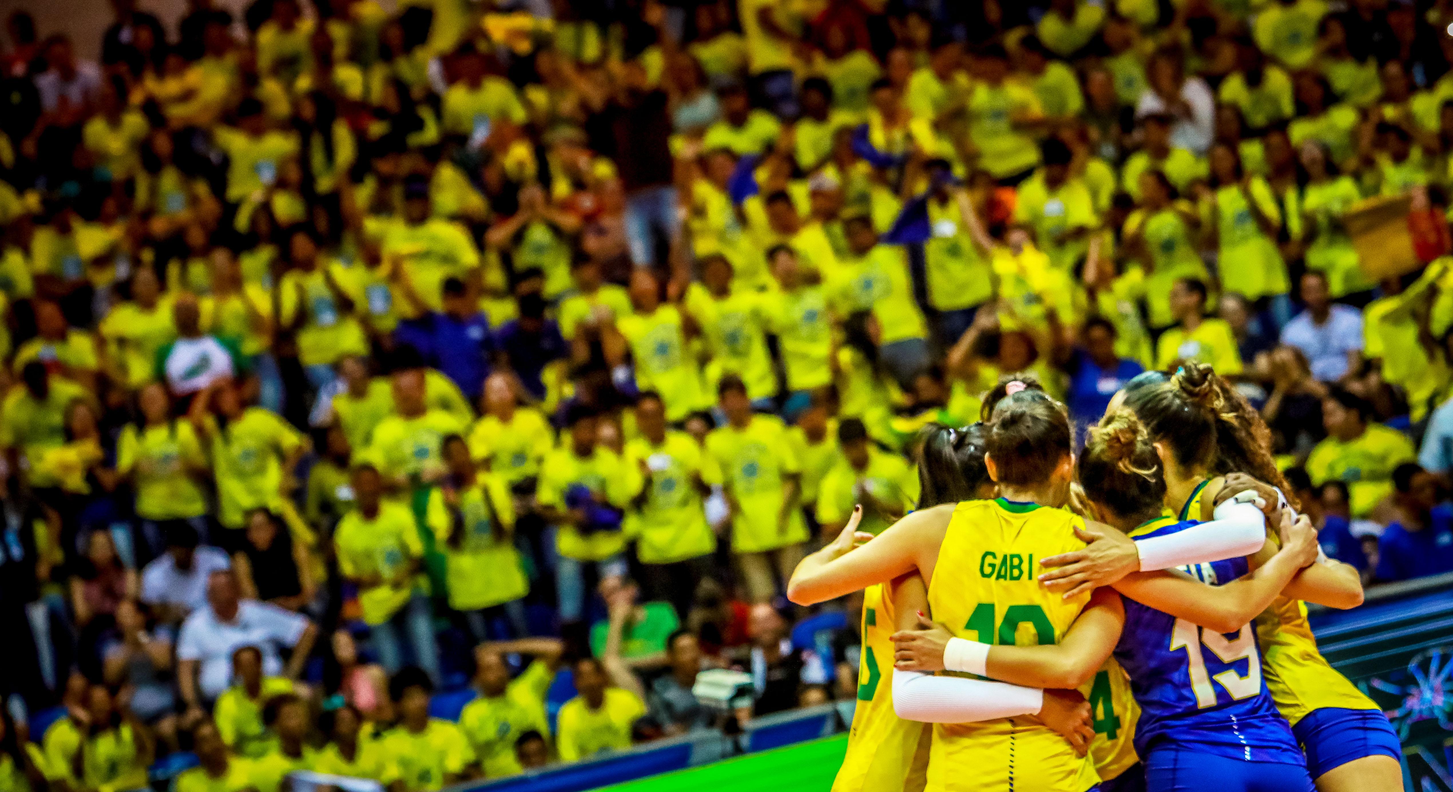 Brasil vence Azerbaijão e fica a uma vitória da vaga para Tóquio